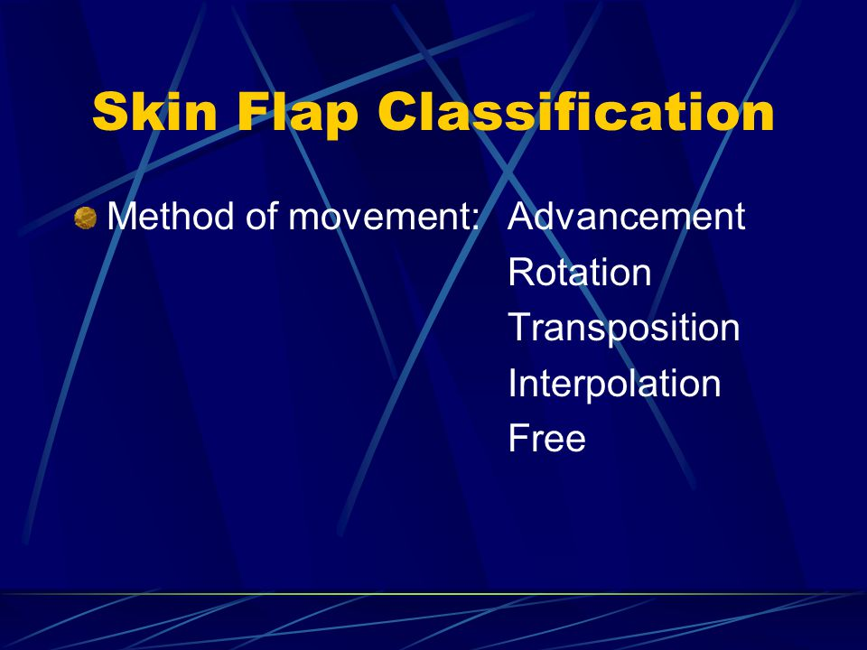 Skin Flap Classification