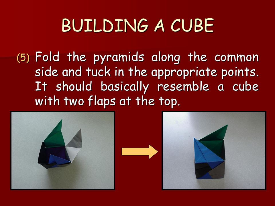 BUILDING A CUBE