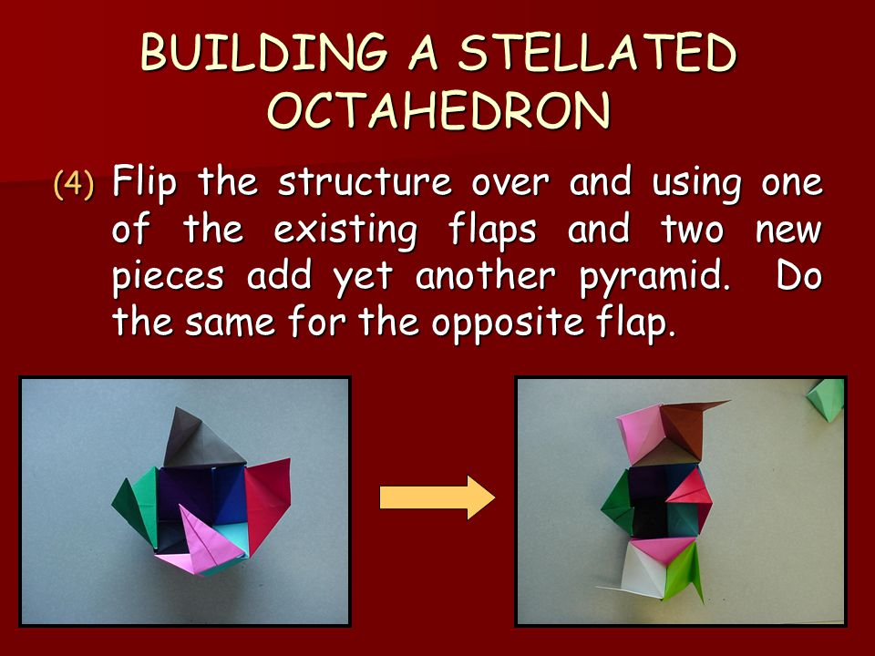 BUILDING A STELLATED OCTAHEDRON