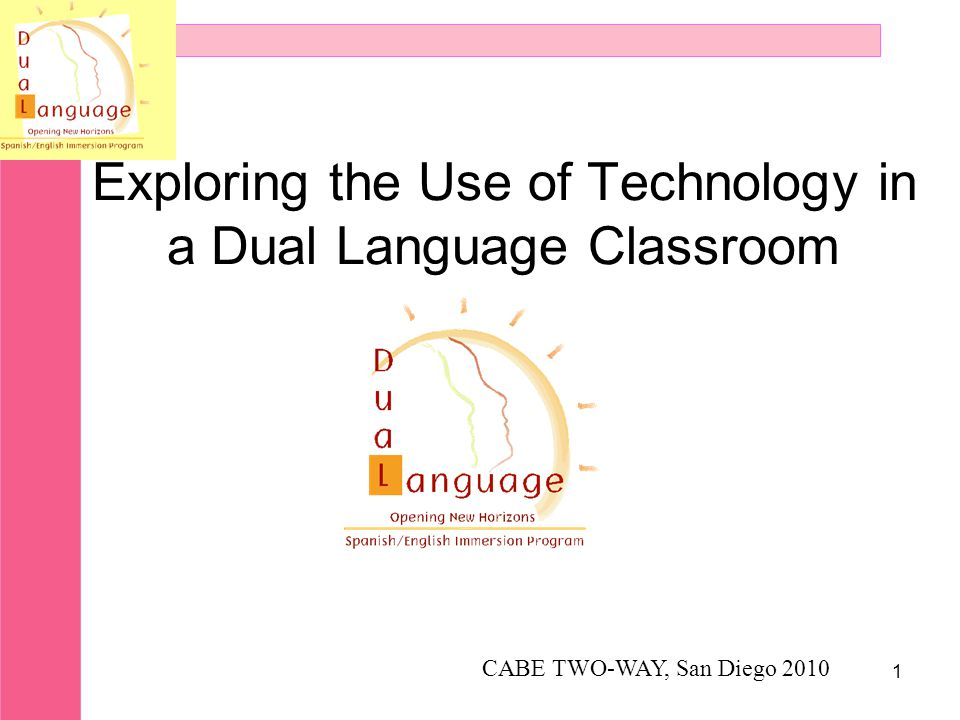 Exploring the Use of Technology in a Dual Language Classroom