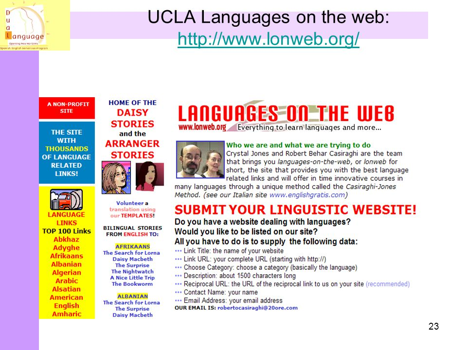UCLA Languages on the web: http://www.lonweb.org/