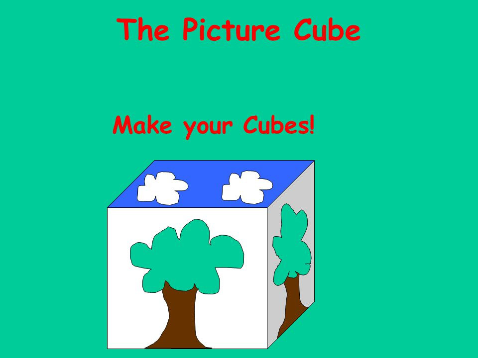 The Picture Cube Make your Cubes!