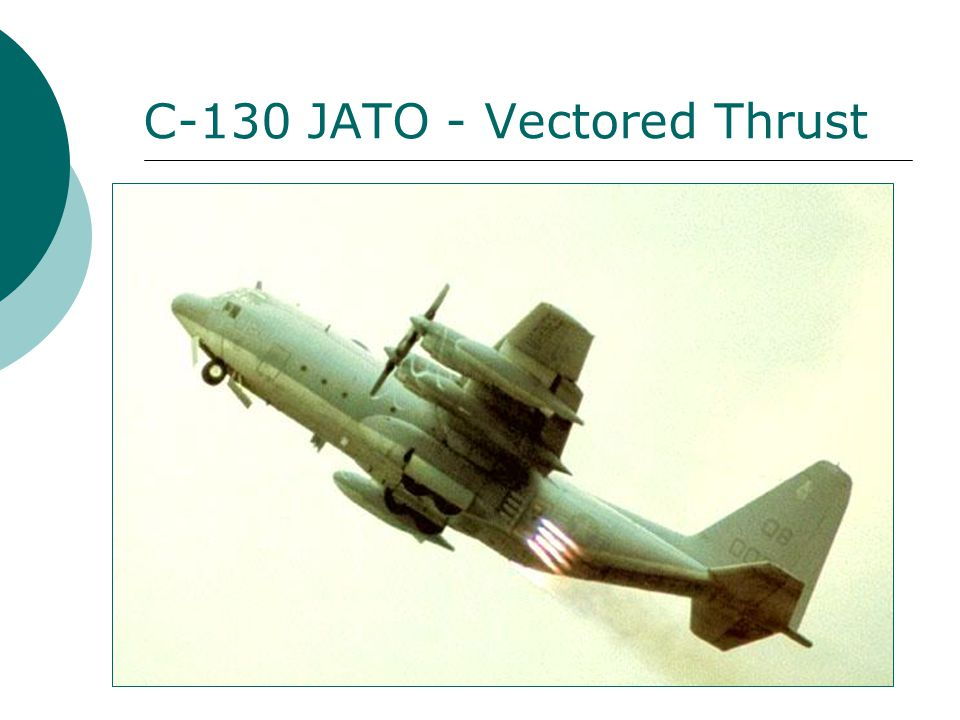 C-130 JATO - Vectored Thrust