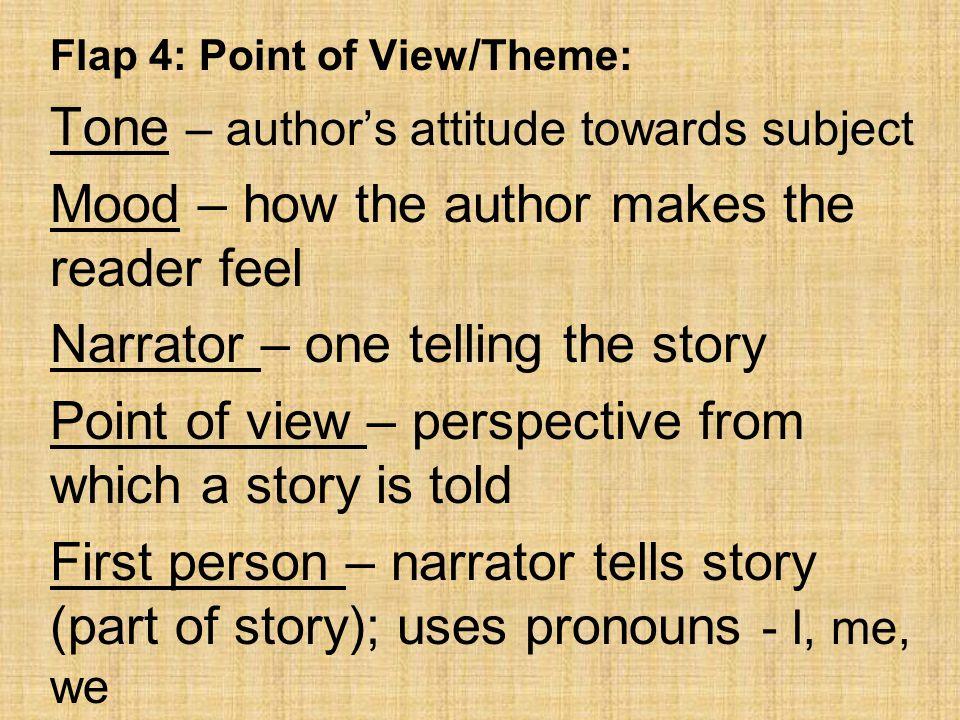 Tone – author's attitude towards subject