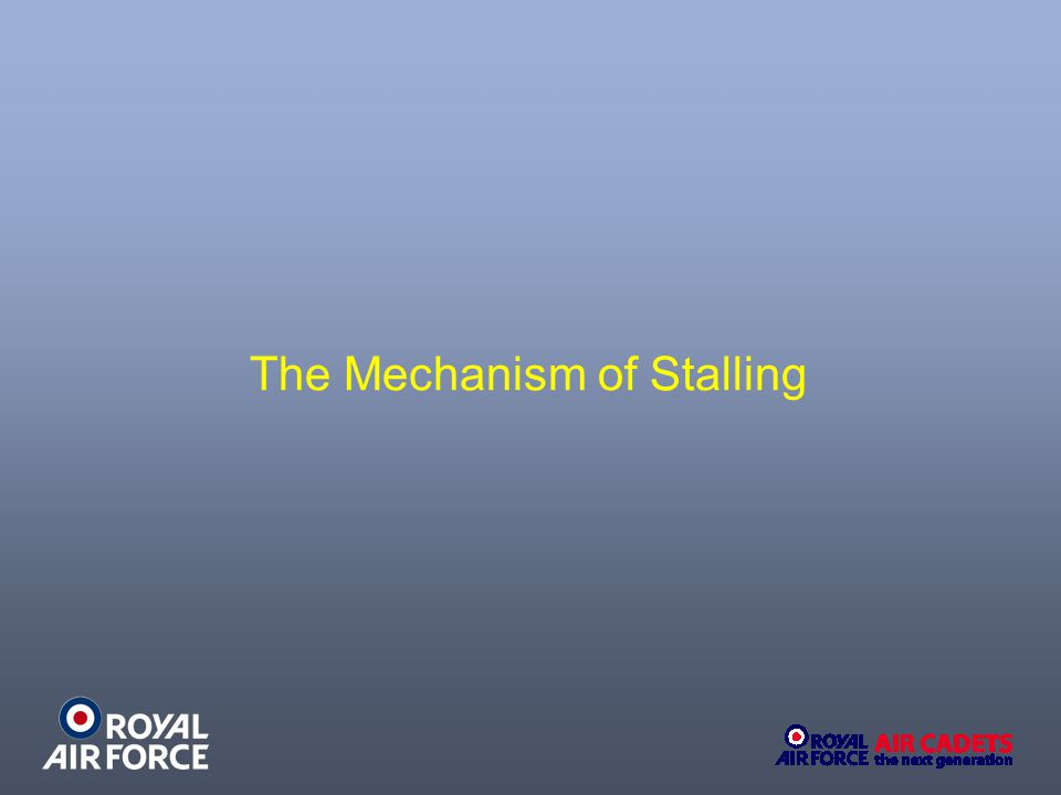 The Mechanism of Stalling