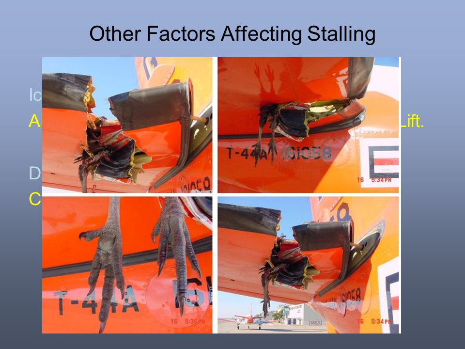 Other Factors Affecting Stalling