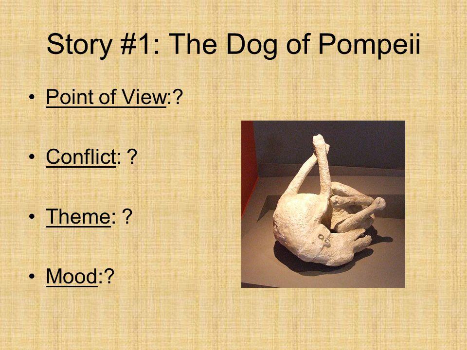 Story #1: The Dog of Pompeii