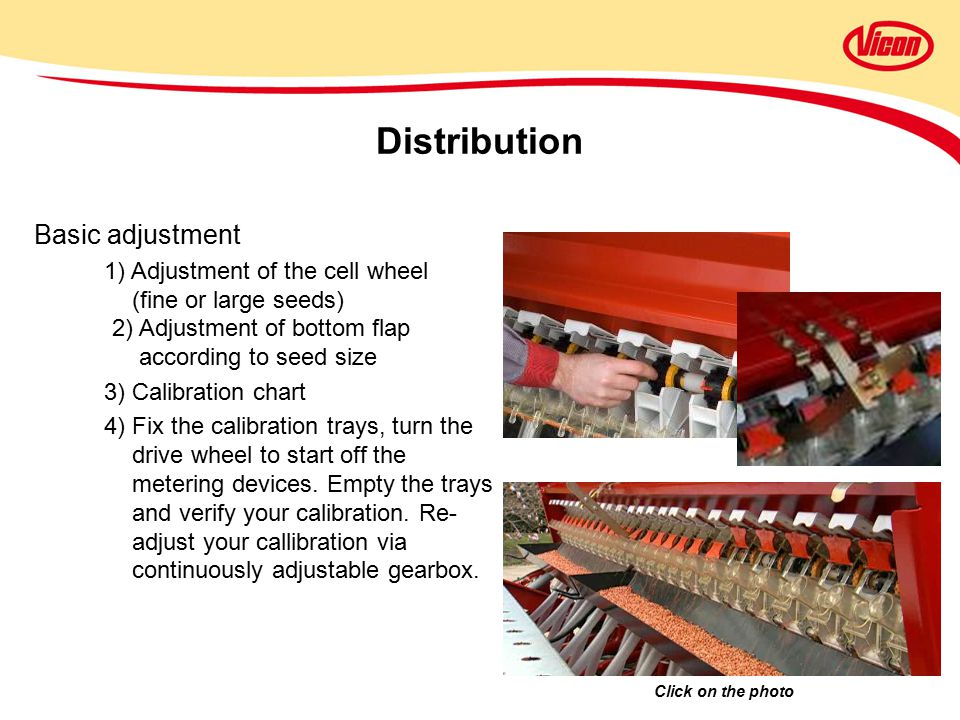Distribution Basic adjustment