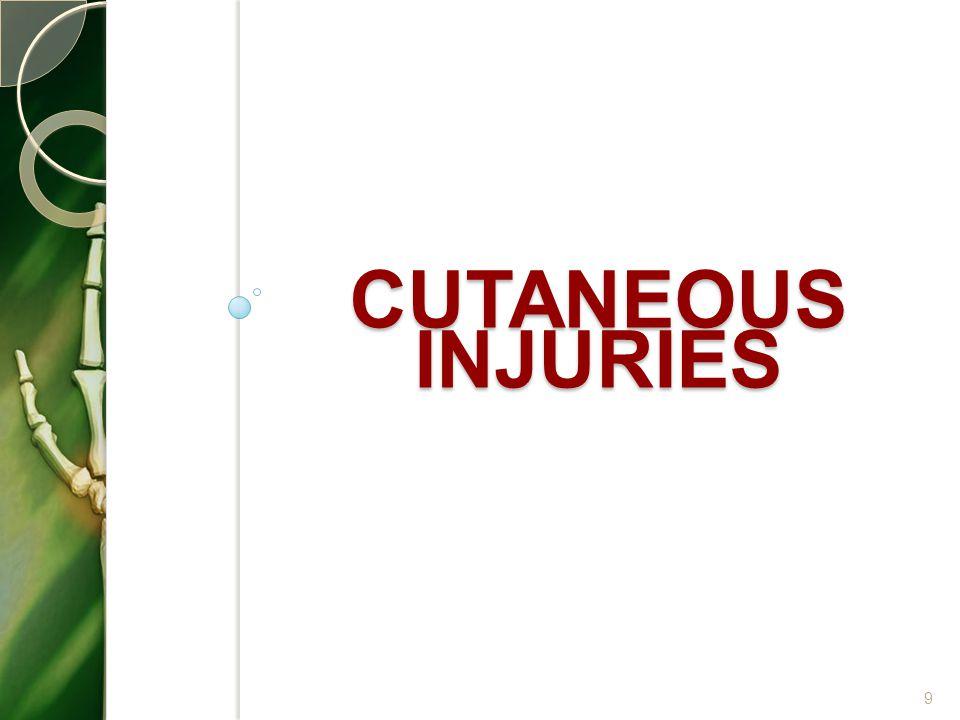 Cutaneous injuries