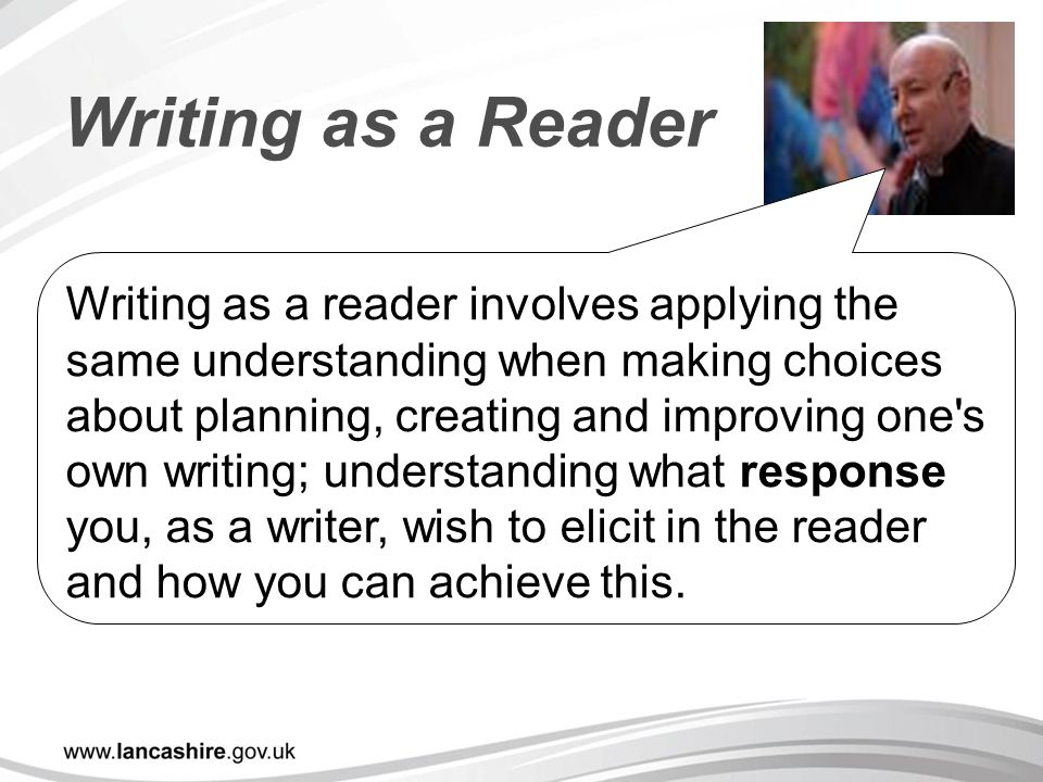 Writing as a Reader