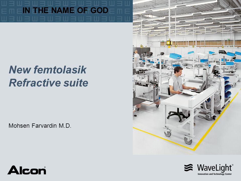 New femtolasik Refractive suite