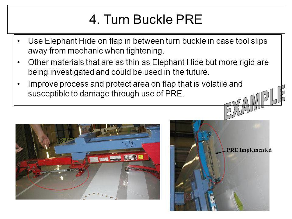 4. Turn Buckle PRE EXAMPLE