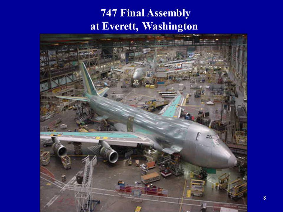 747 Final Assembly at Everett, Washington