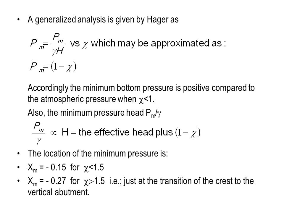 A generalized analysis is given by Hager as