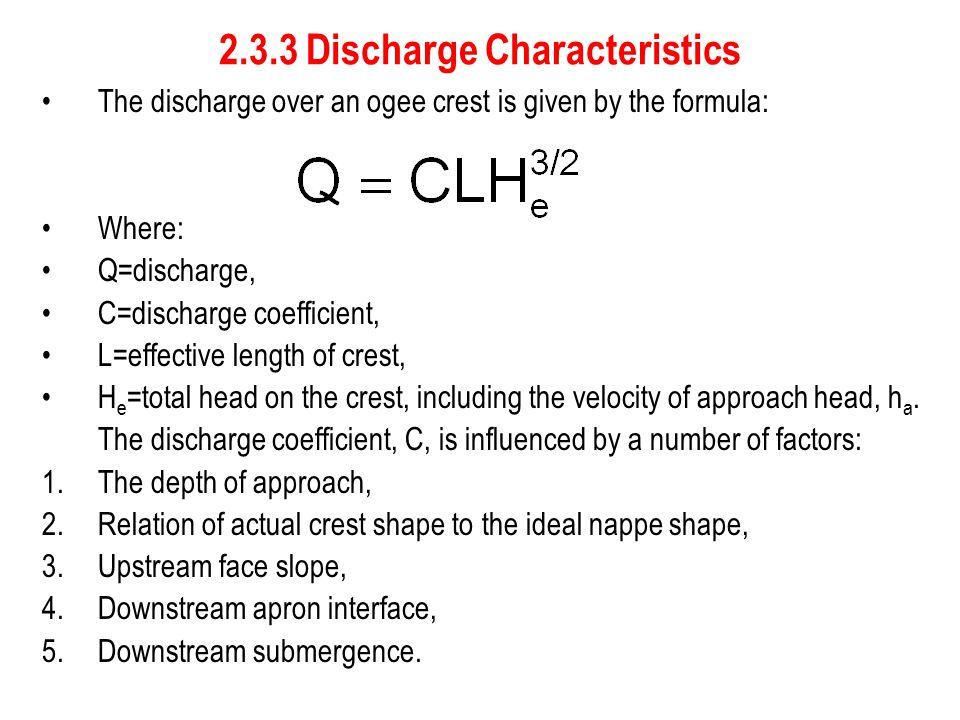 2.3.3 Discharge Characteristics