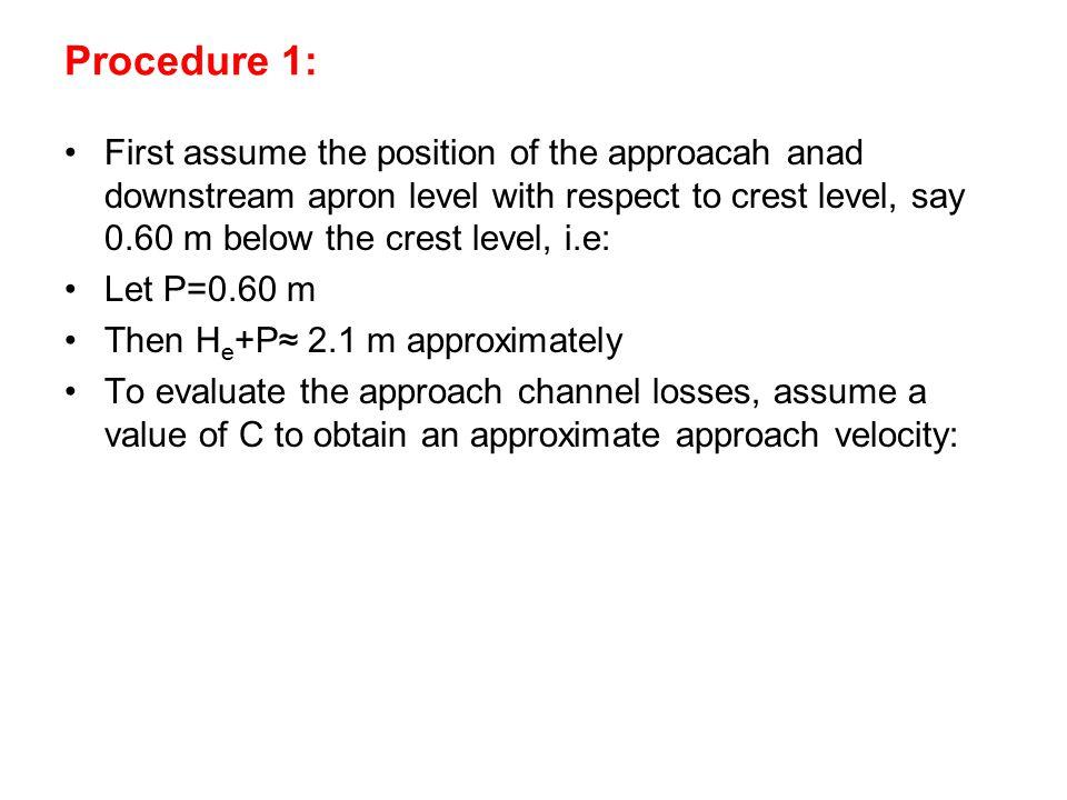 Procedure 1: