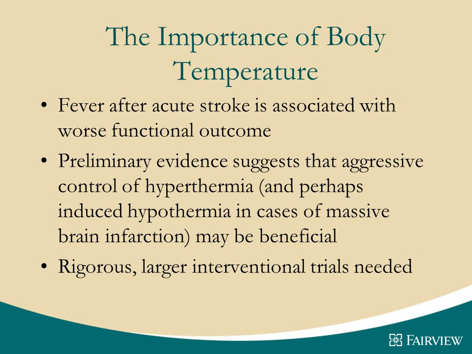 The Importance of Body Temperature
