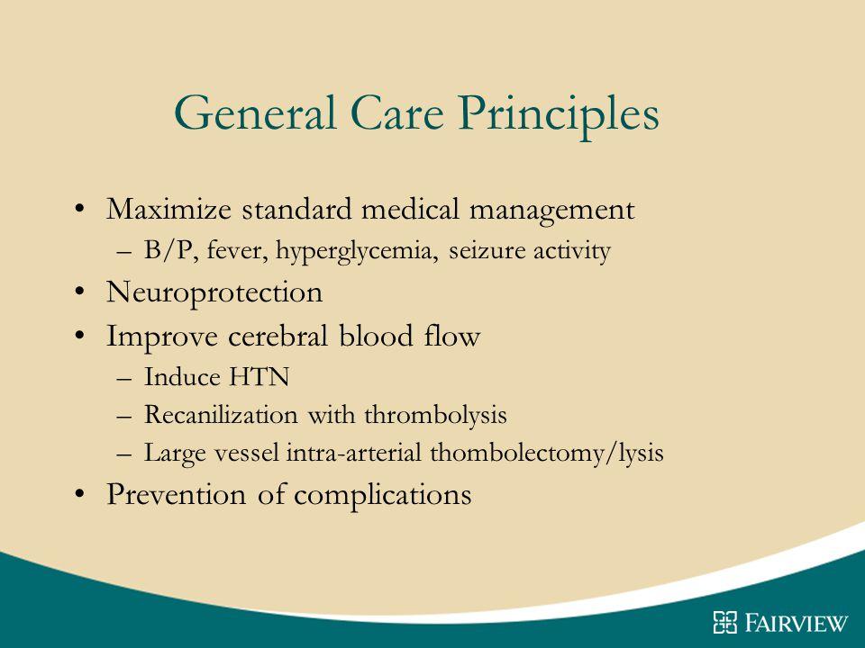 General Care Principles