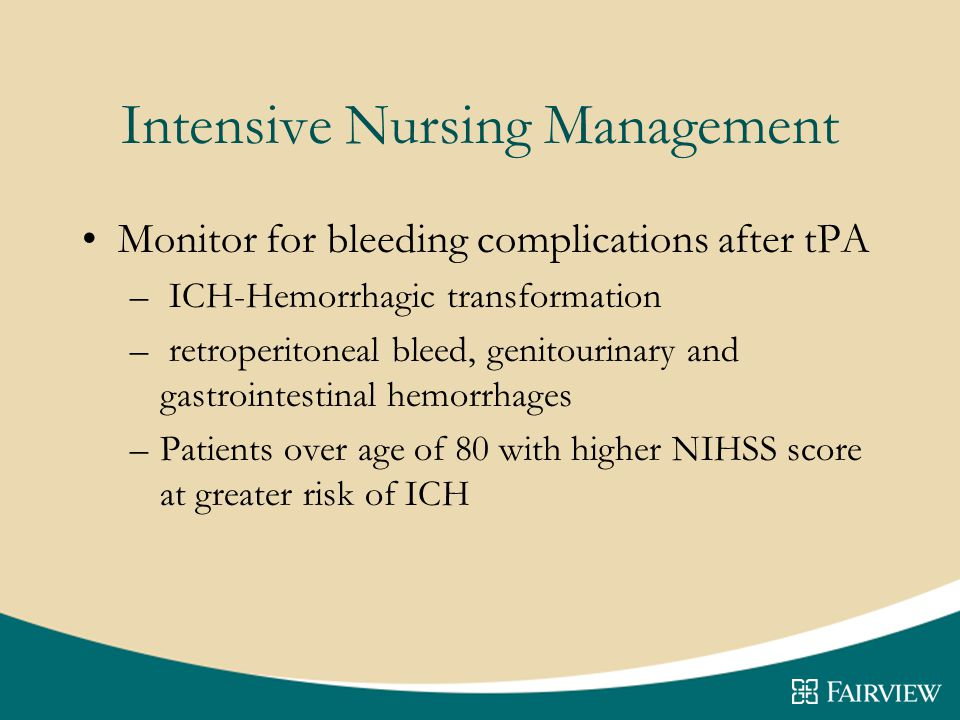 Intensive Nursing Management