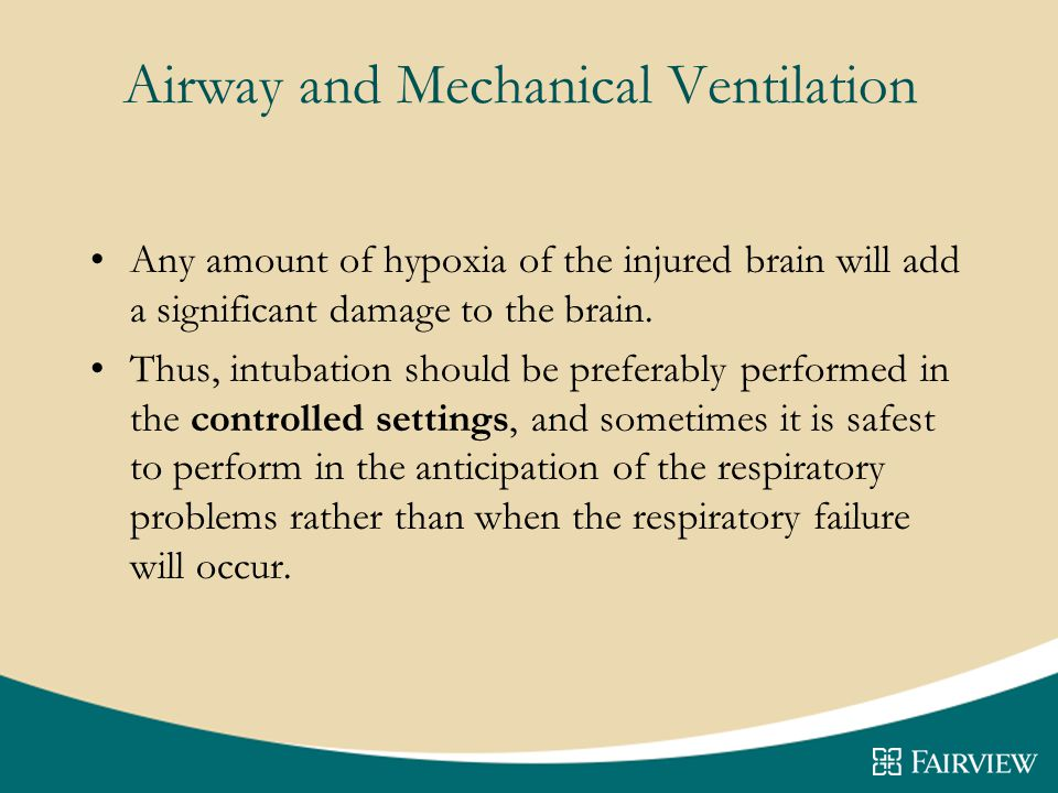 Airway and Mechanical Ventilation