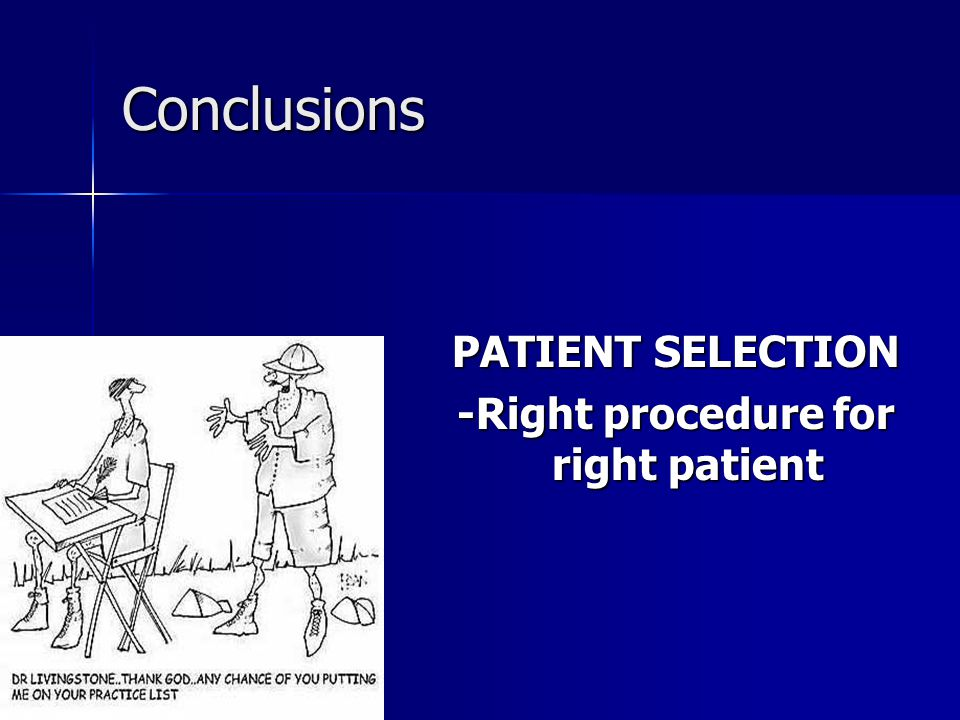 -Right procedure for right patient