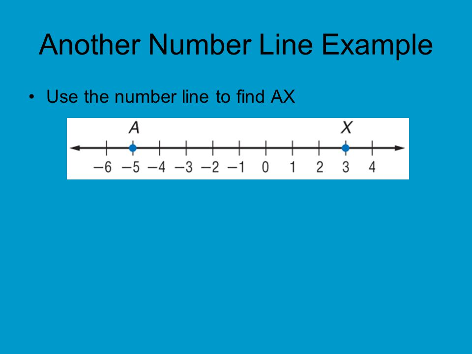 Another Number Line Example