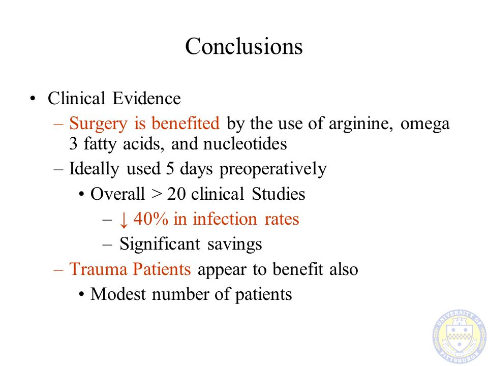 Conclusions Clinical Evidence