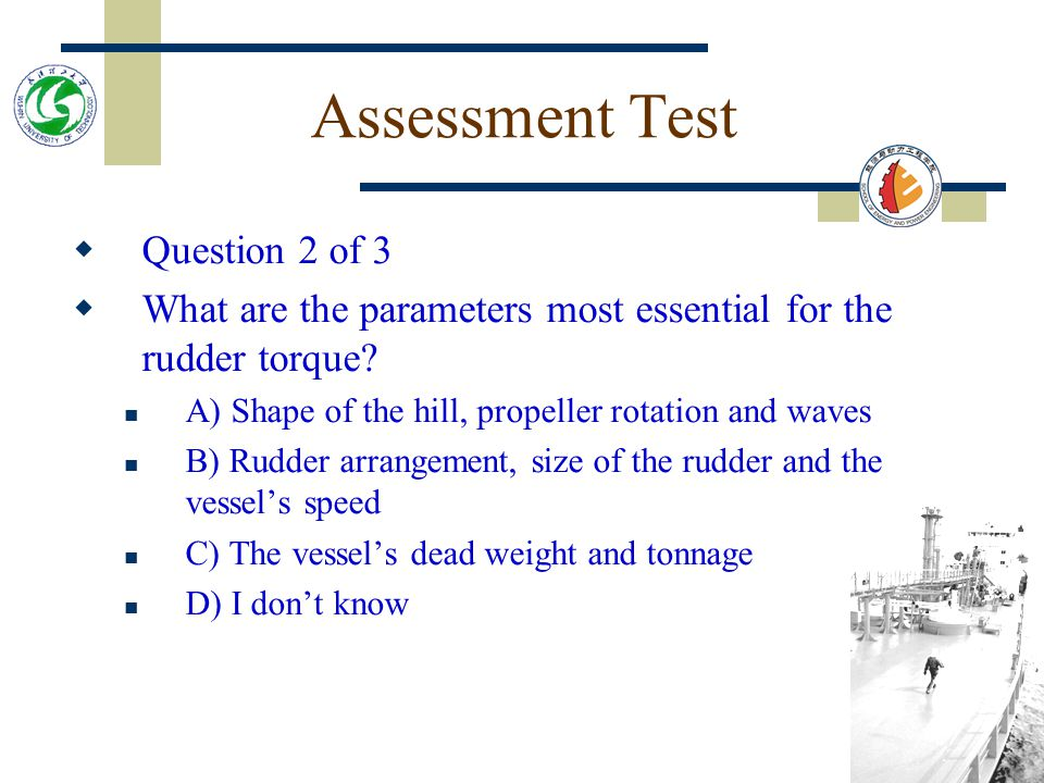 Assessment Test Question 2 of 3