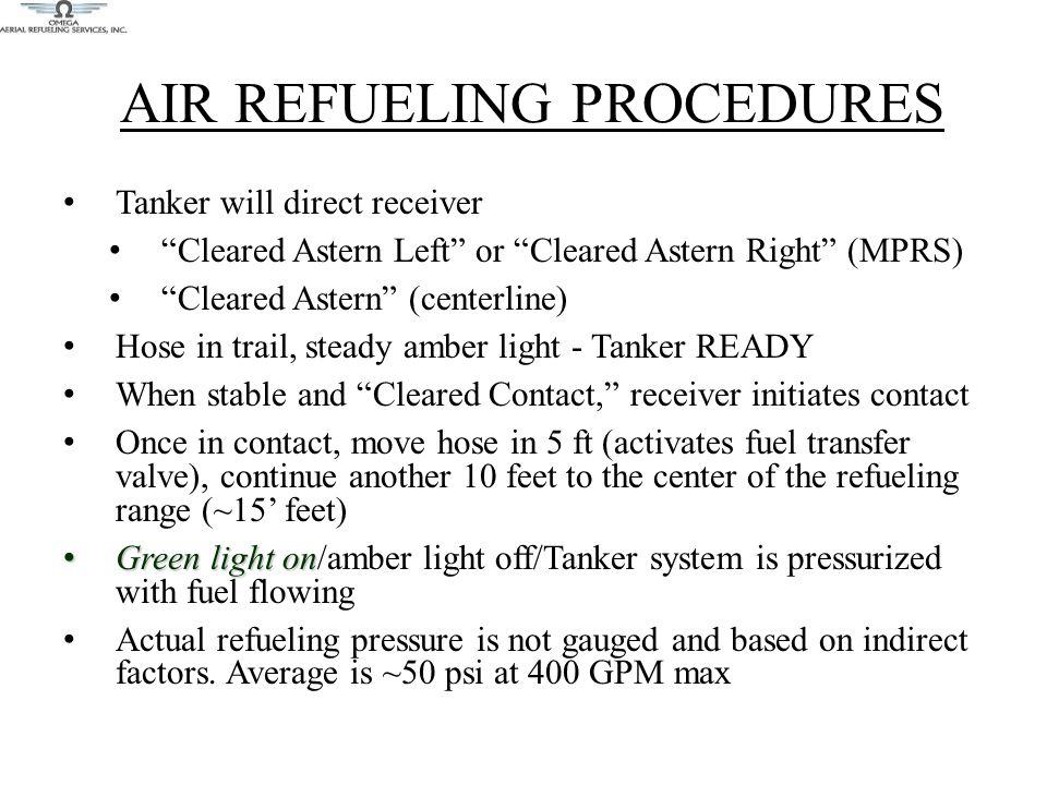 AIR REFUELING PROCEDURES
