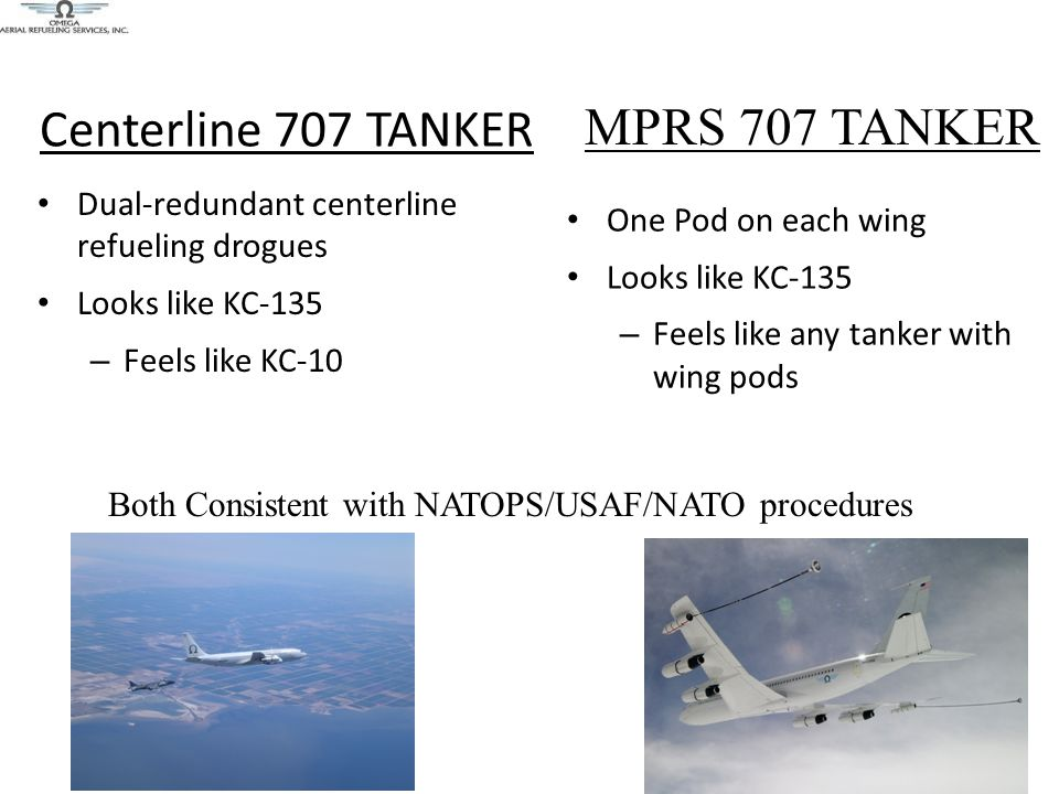 Centerline 707 TANKER MPRS 707 TANKER