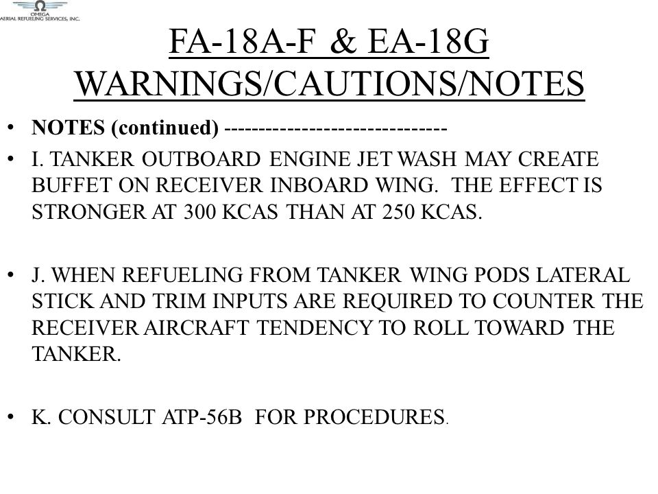 FA-18A-F & EA-18G WARNINGS/CAUTIONS/NOTES