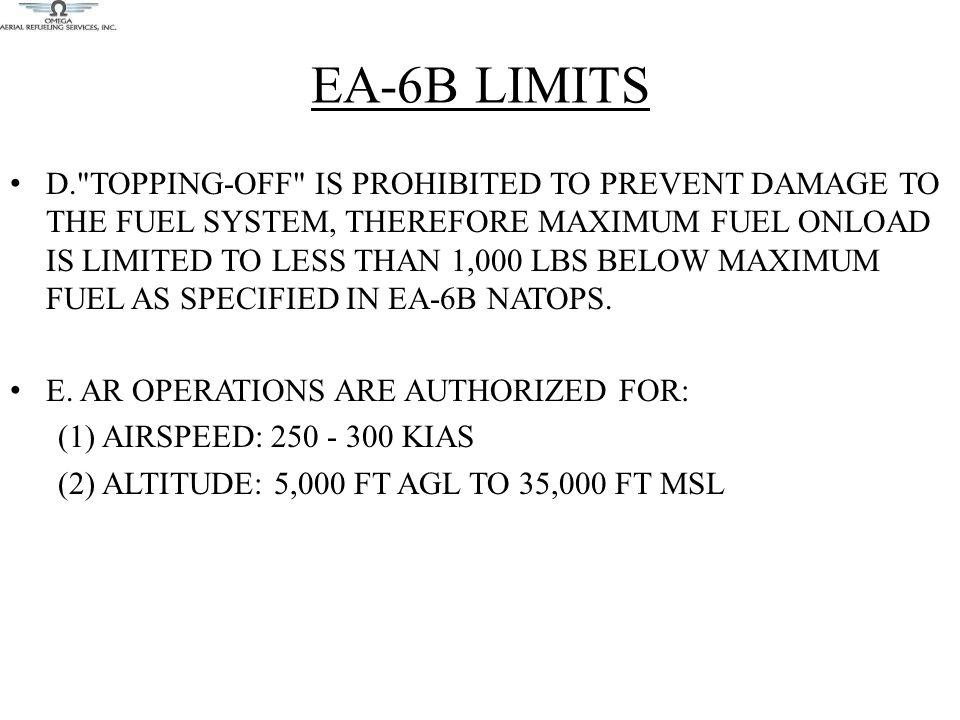 EA-6B LIMITS