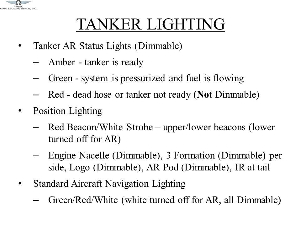 TANKER LIGHTING Tanker AR Status Lights (Dimmable)