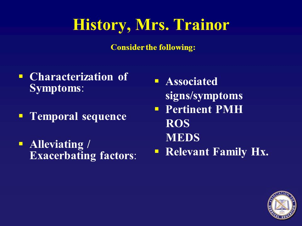 History, Mrs. Trainor Consider the following:
