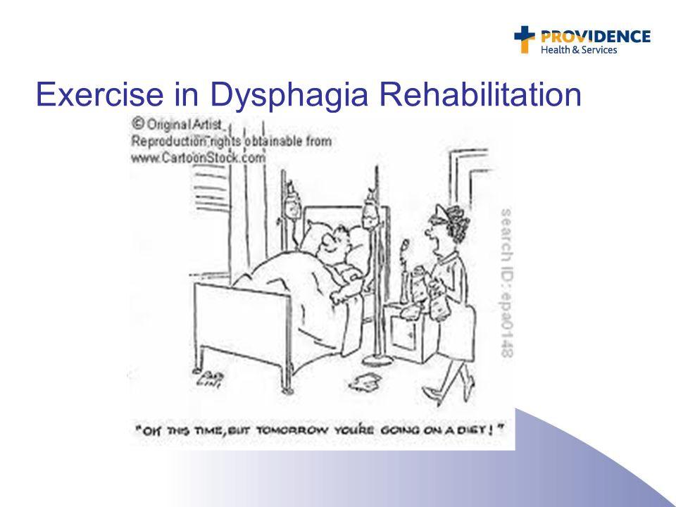 Exercise in Dysphagia Rehabilitation