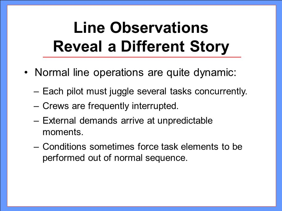 Line Observations Reveal a Different Story