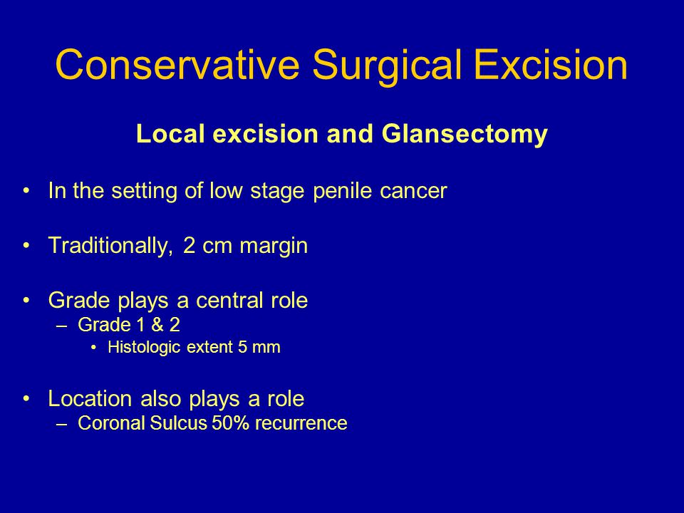 Conservative Surgical Excision