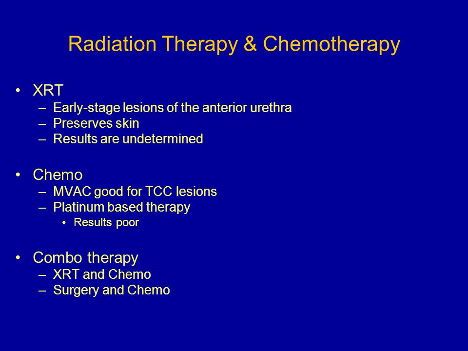 Radiation Therapy & Chemotherapy