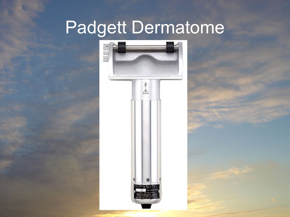 Padgett Dermatome