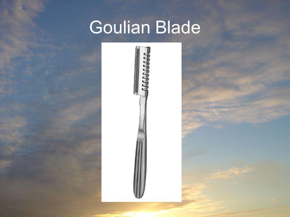 Goulian Blade