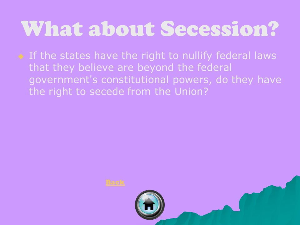 What about Secession