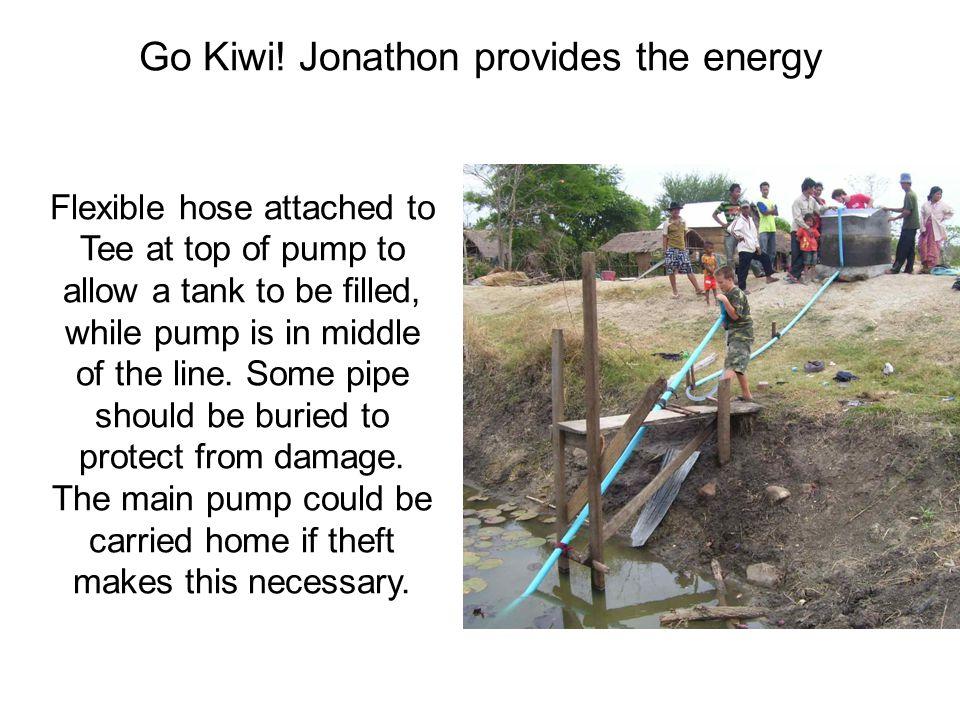 Go Kiwi! Jonathon provides the energy
