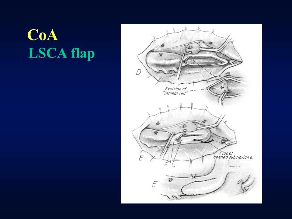 CoA LSCA flap