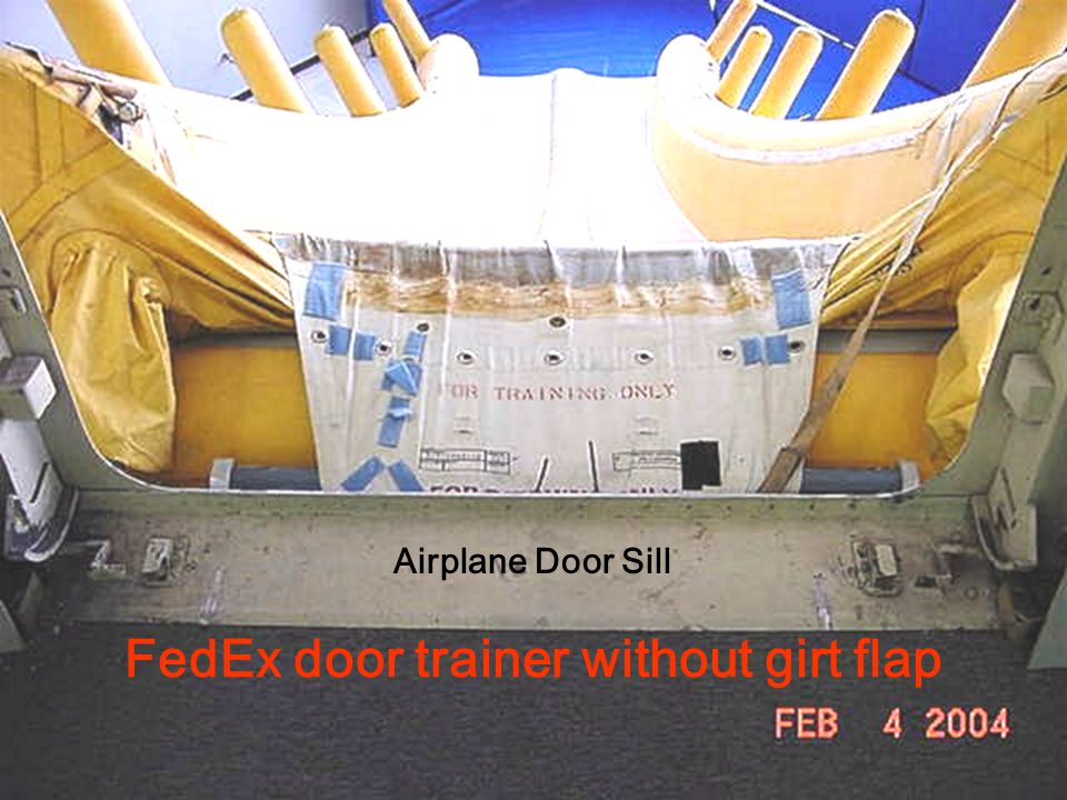 FedEx door trainer without girt flap
