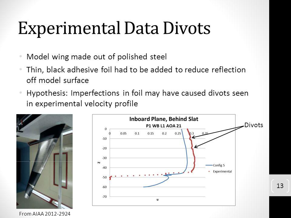 Experimental Data Divots