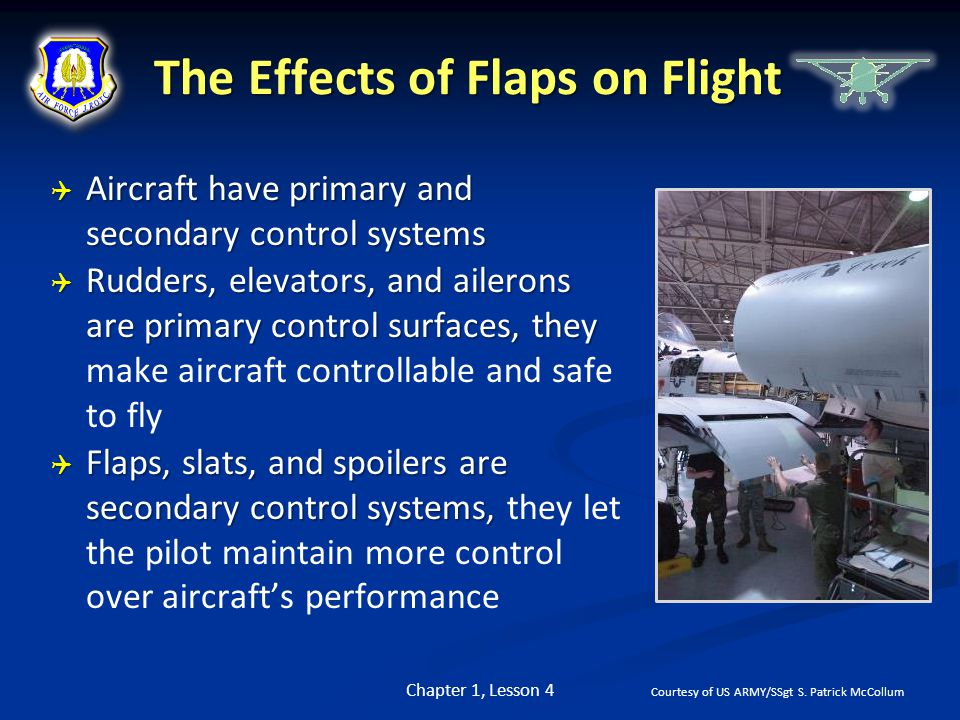 The Effects of Flaps on Flight