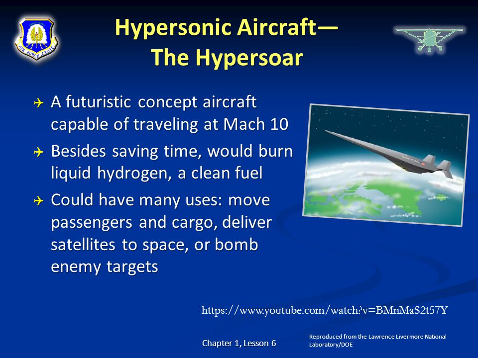 Hypersonic Aircraft— The Hypersoar