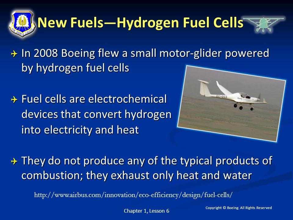 New Fuels—Hydrogen Fuel Cells