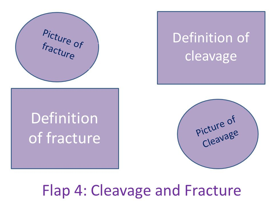 Flap 4: Cleavage and Fracture