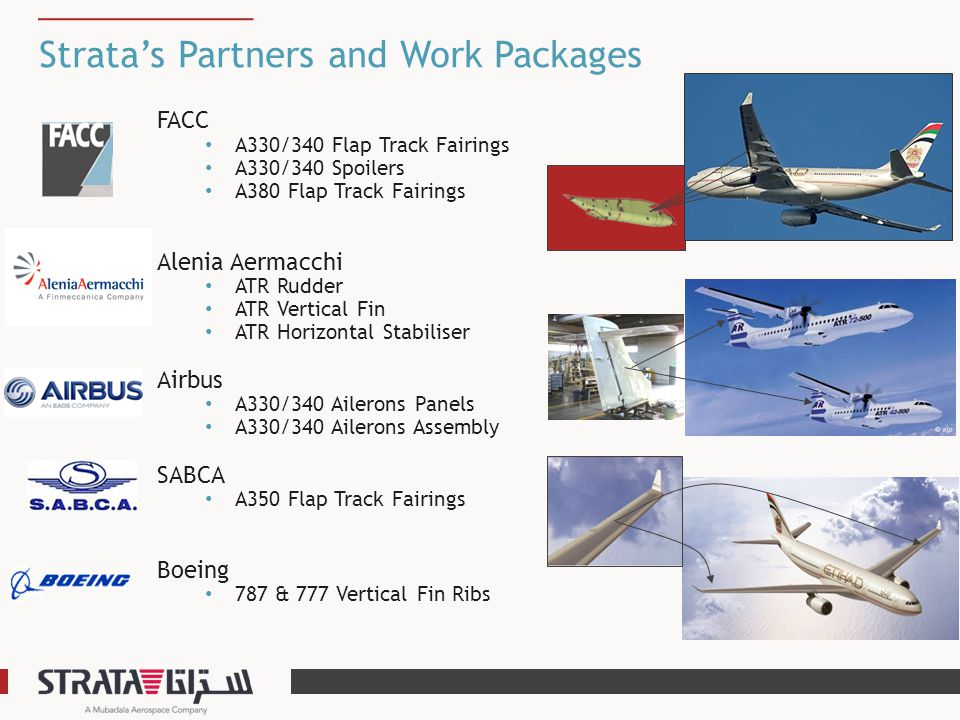Strata's Partners and Work Packages